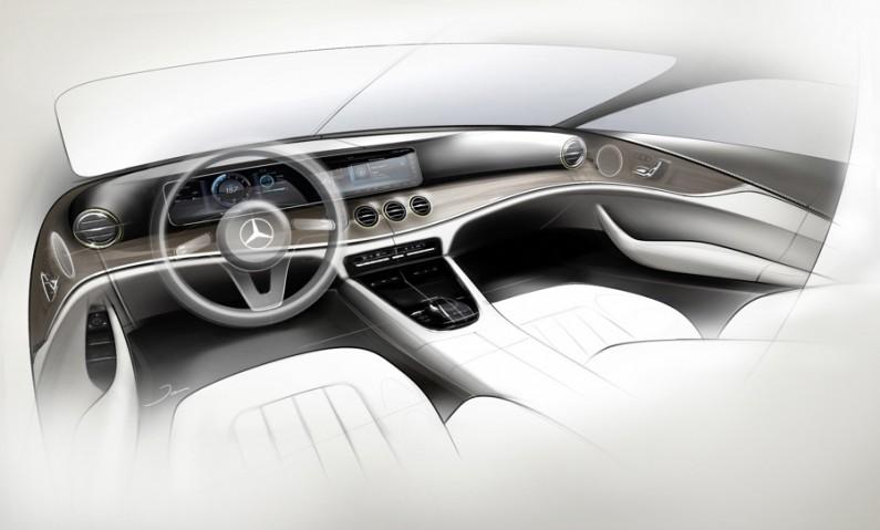 [test] Mercedes Classe E 2016 : l'intérieur en avant-première