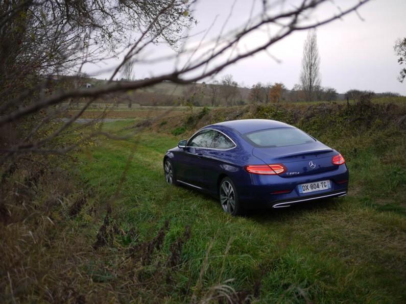 Essai Mercedes Classe C coupé
