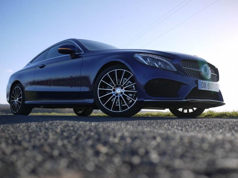 [test] Mercedes Classe C Coupé : tout en finesse