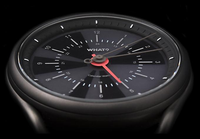Calendar Watch, la montre connectée au look discret qui s'occupe de votre agenda
