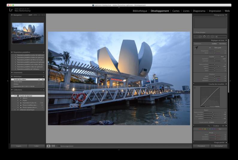 Test Adobe Lightroom