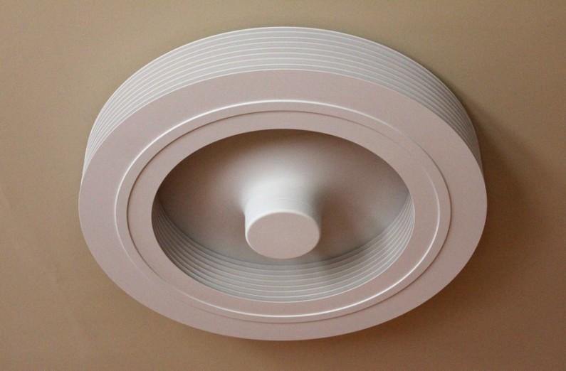 Exhale ventilateur plafond design sans pales blanc