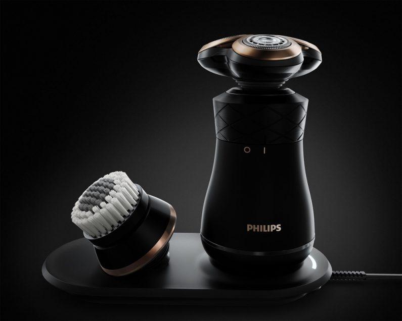 Philips Iconiq rasoir design rétro