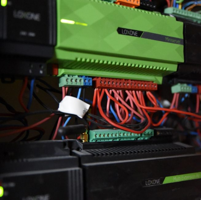 Loxone installation diisign