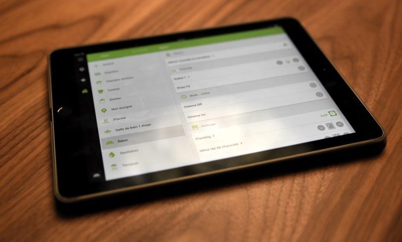Loxone application tablette