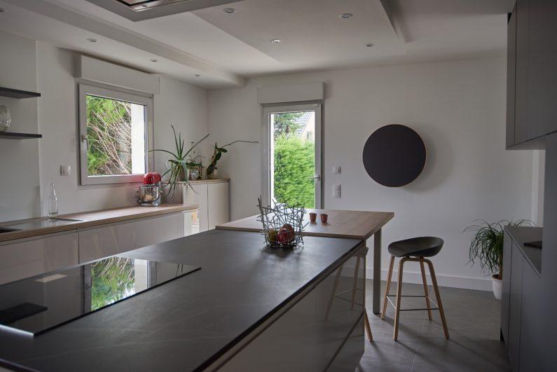 La maison diisign la cuisine diisign for Habillage mur cuisine