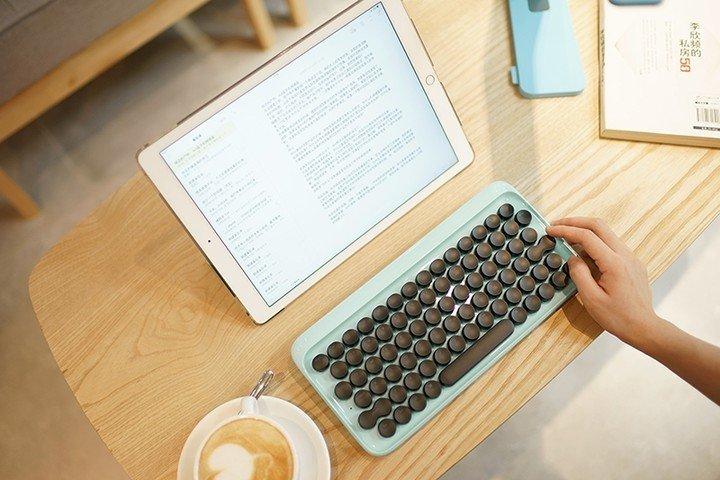 Lofree clavier design rétro
