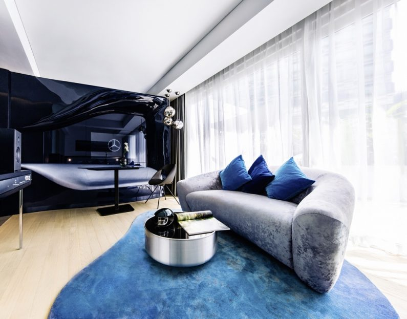 """Mercedes-Benz Living @ Fraser"" now also in Singapore - Exclusive premium apartments for young business and leisure target groups. ""Mercedes-Benz Living @ Fraser"" now also in Singapore - Exclusive premium apartments for young business and leisure target groups."