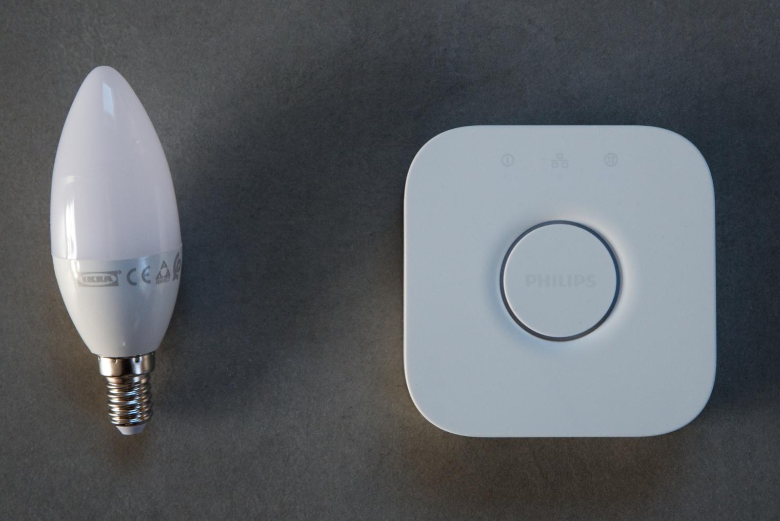 Test] ajouter des ampoules ikea tradfri sur pont philips hue cest