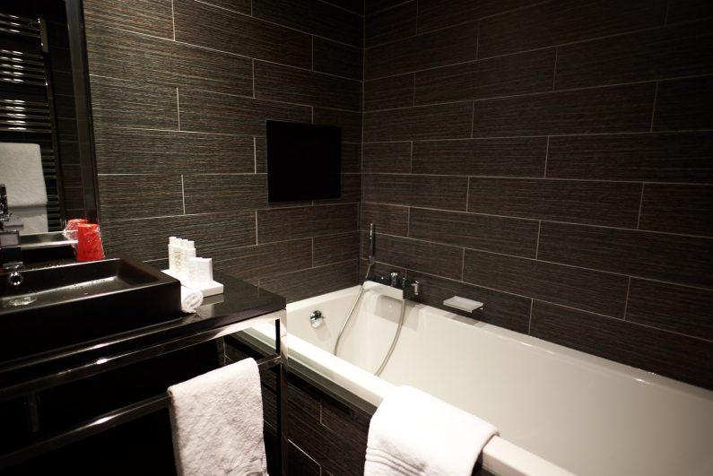 Avenue Lodge hotel luxe val d'Isère avis meilleur design  salle de bains