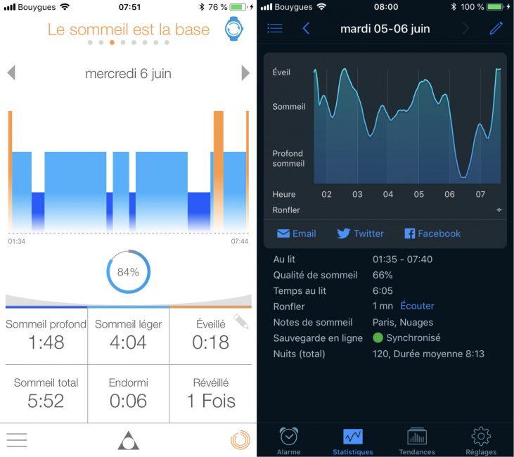 test alpina Alpiner X montre connectée sport 45mm suivi sommeil