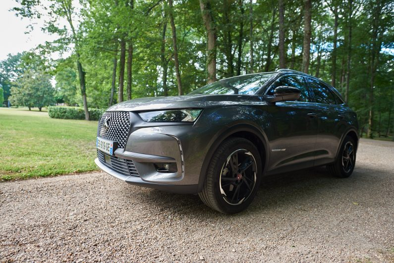 Essai DS7 Crossback performance line 180ch hdi test