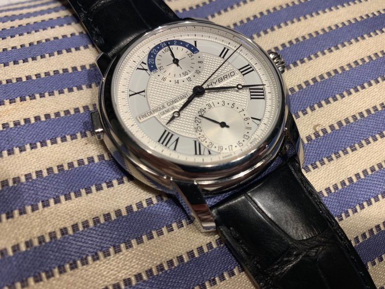 Frederique constant hybrid Manufacture test review montre connectée