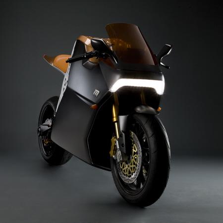 Encore une moto électrique, encore Yves Behar