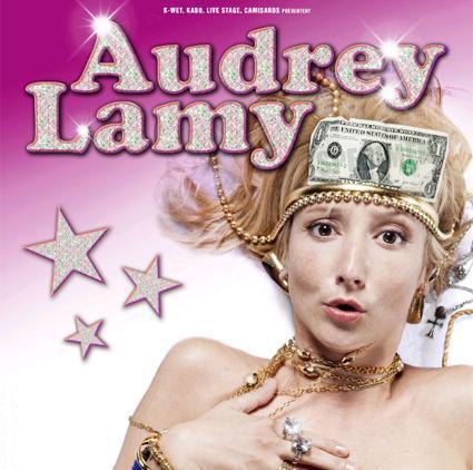 Audrey Lamy / Dernières avant Vegas @ Théatre du Temple