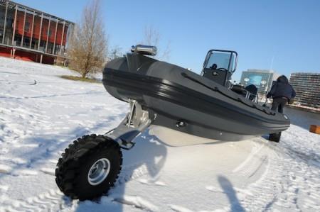 Sealegs : le bateau avec des roues