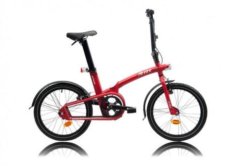 B'Twin Tilt : le vélo pliant en 1 seconde arrive