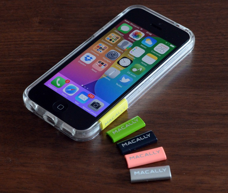 [mini test] Macally PCRim : une protection iPhone 5c, c'est rare