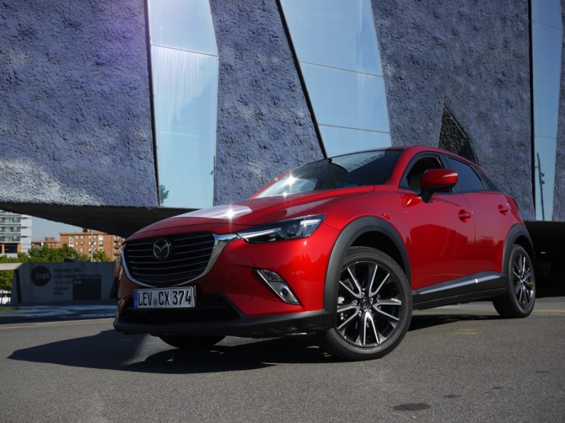 [test] Mazda CX3 : quand Mazda se met au crossover compact