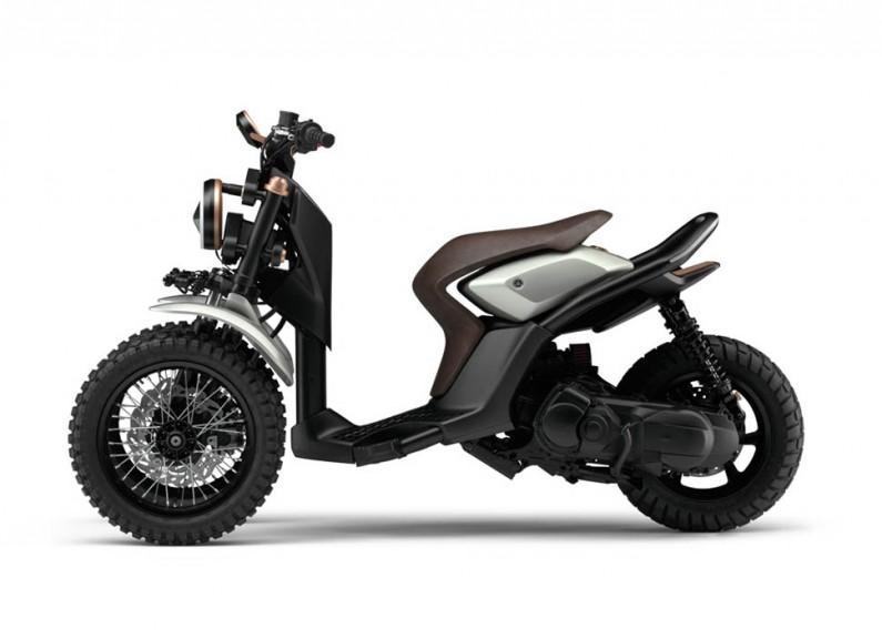 Yamaha 03GEN-X : le scooter 3 roues qui n'a pas oublié le style