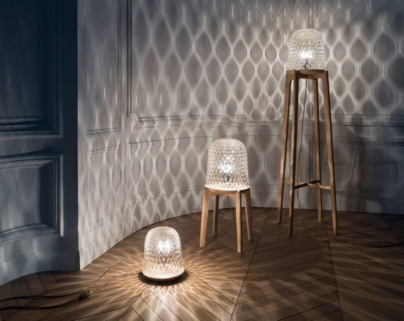 Folia par Noé Duchaufour-Lawrance pour Saint Louis : Quand le bois sublime le cristal