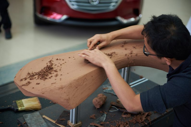 Une journée pour réaliser mon shooting brake Kodo au coeur de Mazda Design Europe
