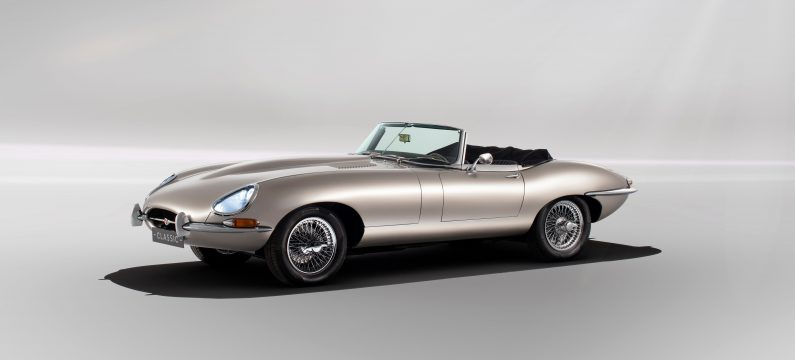 E-Type Zero : Jaguar va commercialiser une Type E électrique