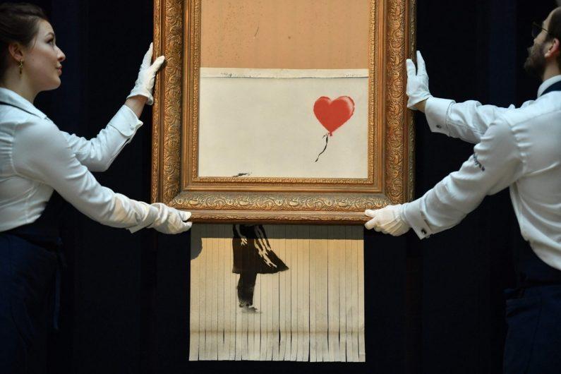 La fille au ballon de Banksy aurait dû être complètement détruite