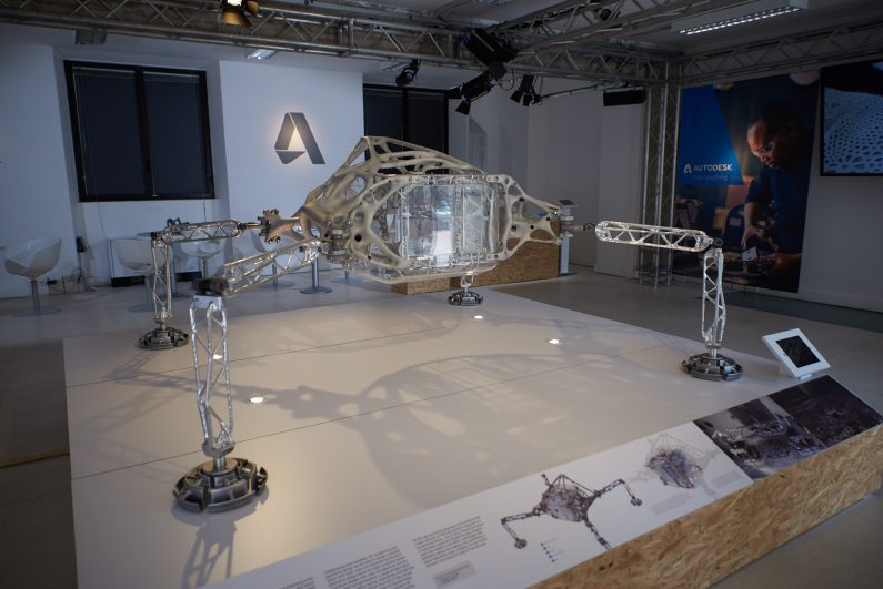 Autodesk Space Exploration Lander