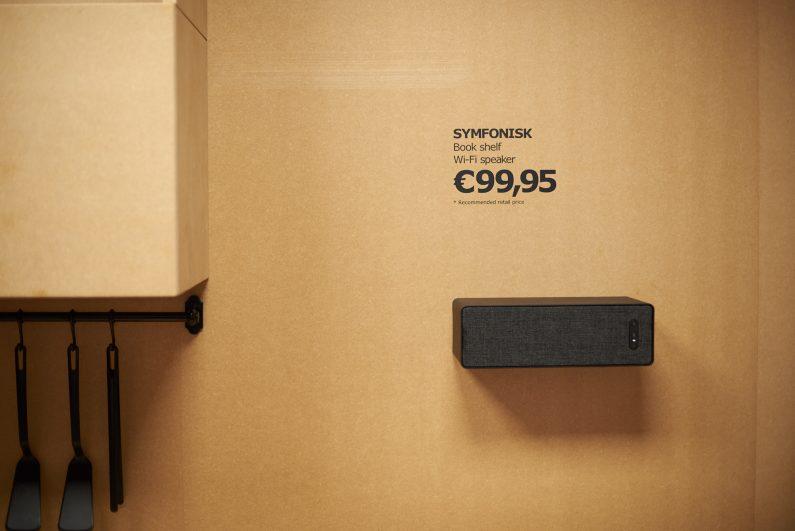 [Milan design week] Symfonisk : IKEA fait disparaître les enceintes et relance Sonos