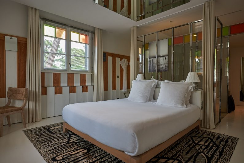 Hotel Haaitza Haitza arcachon philippe starck chambre